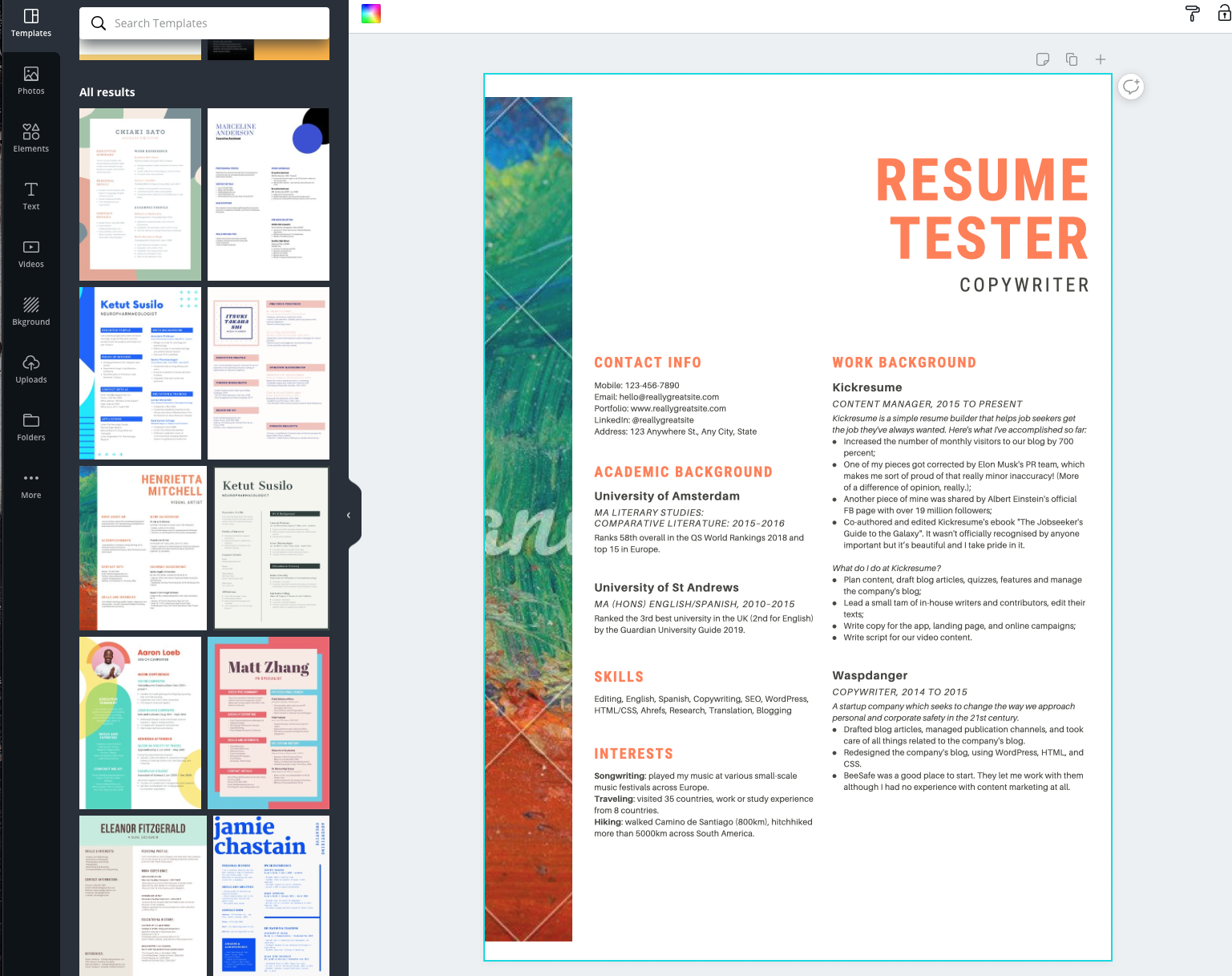 Top 10 Resume Builders Of 2020 We Tried Them All So You Don T
