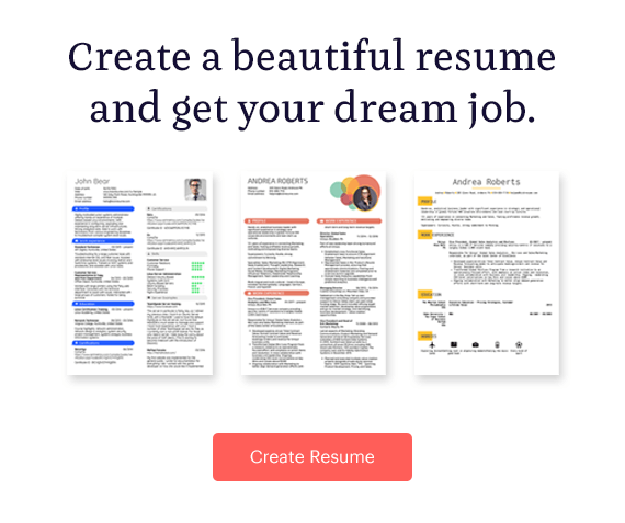 Kickresume Create Resume
